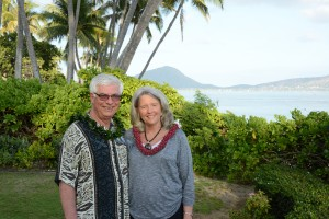 Doug & I - Lei's on