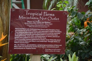 Macadamia Farm Sign