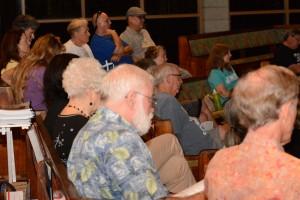 Presentation - people in seats