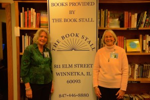 Marj & Terry with Book Stall SIGN